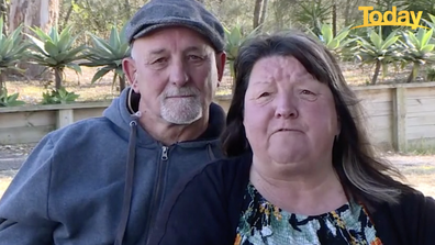The couple have not been home for five months. They've been trying to get home for three of those.