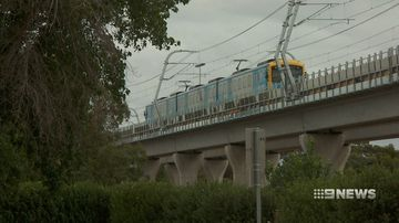 First trains run on skyrail track