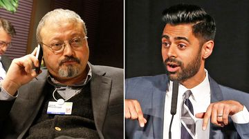 """Human rights groups have slammed Netflix for pulling an episode in Saudi Arabia of comedian Hasan Minhaj's """"Patriot Act"""" series that criticised the kingdom's powerful crown prince."""
