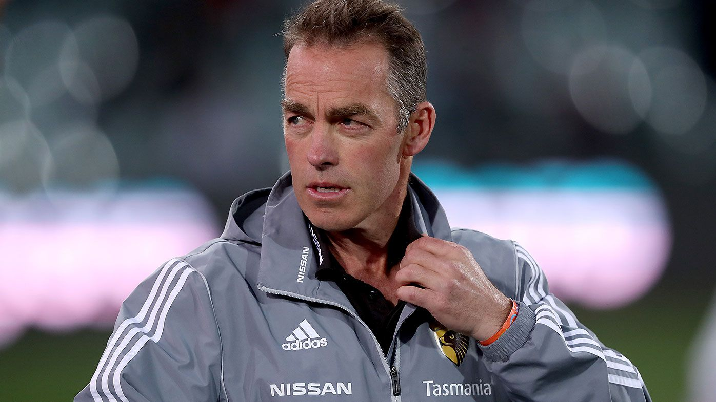 Alastair Clarkson swipes back at Garry Lyon over 'sociable Hawks' jab after loss to Port Adelaide