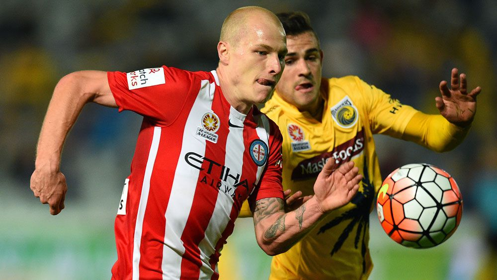 Aaron Mooy in action for Melbourne City. (AAP)