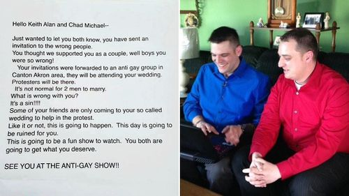 'This day is going to be ruined for you': World's worst wedding invitees pen hateful RSVP letter