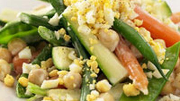 Mixed Vegetables with Aïoli (Aigroissade)