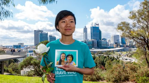 Belinda Teh walked from Melbourne to Perth to campaign for the legislation after her mum died from terminal breast cancer in 2016.