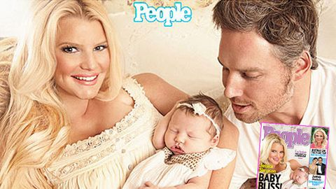 df01a54eb1f4 First pic  Jessica Simpson s baby girl - 9Celebrity