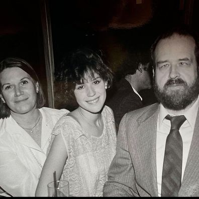 Molly Ringwald pays tribute to her father Bob Ringwald.