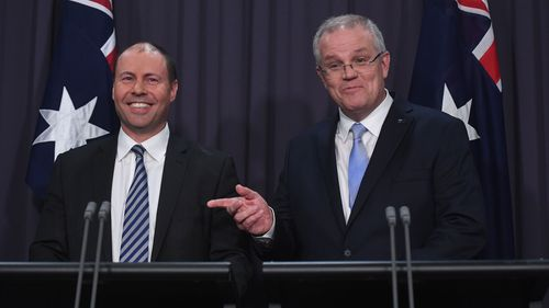 "Mr Morrison tells Australia: ""We're on your side""."