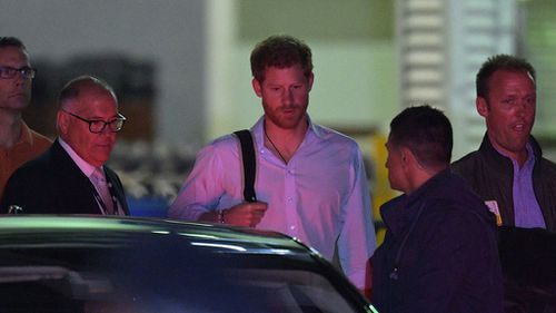 Prince Harry will be visiting various Sydney hot spots during his brief visit. (AAP)