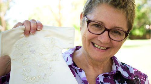 Angel Gowns Australia national secretary Christine McKenna. (Ehsan Knopf/9NEWS)
