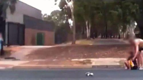 News Adelaide South Australia dash cam motorcycle crash teenage rider boy injured