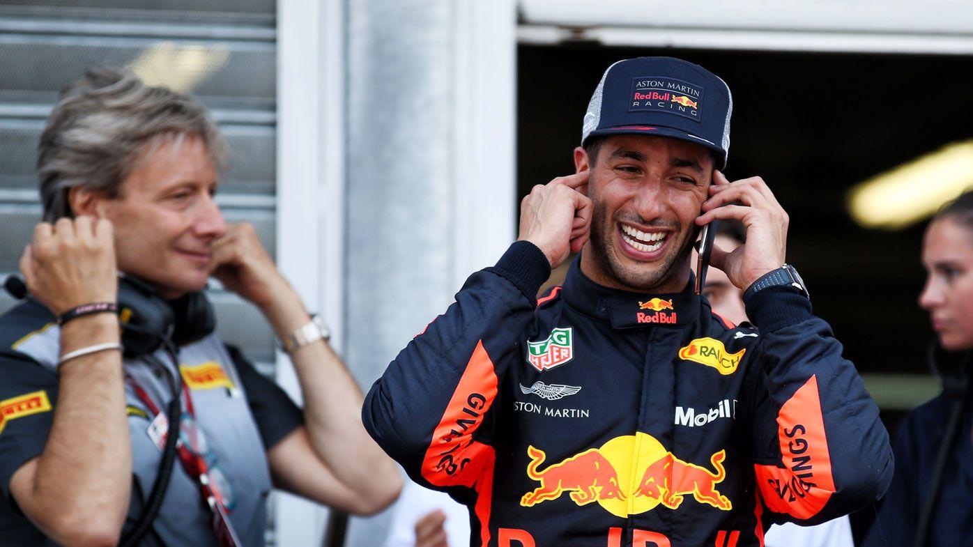 Ricciardo on Monaco pole after record lap