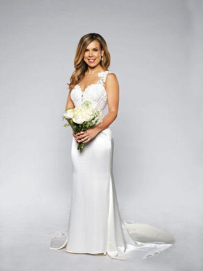 "Carly in her dress by<a href=""http://www.belleetblanc.com.au/"" target=""_blank""> Belle et Blanc</a>"