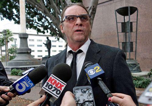 Charles Manson's grandson Jason Freeman. (AP).