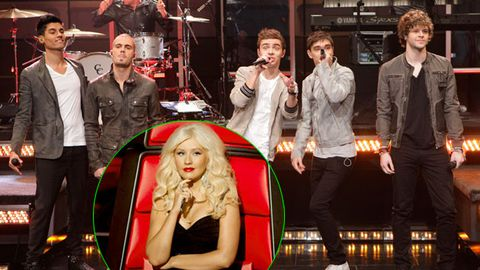 Christina Aguilera is a 'rude b----' says boy band The Wanted