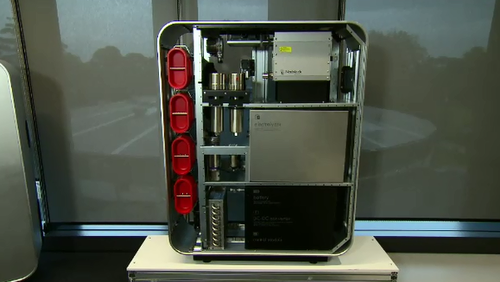 The LAVO battery system set to be developed in Queensland.