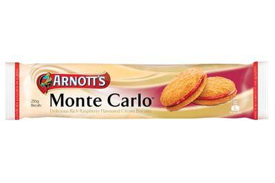 Monte Carlo: 7.5g sugar per biscuit