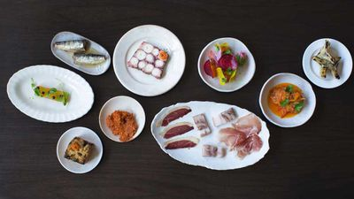 <strong>A sample of the spread at Curtis Stone's Gwen in L.A.</strong>