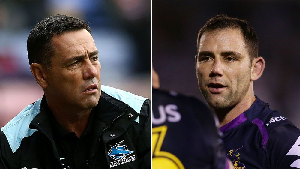 Cronulla Sharks coach Shane Flanagan hits out at 'referee Cameron Smith'