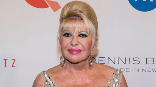 'I'm first lady, OK?': Ivana Trump is currently promoting a new book. (AAP)