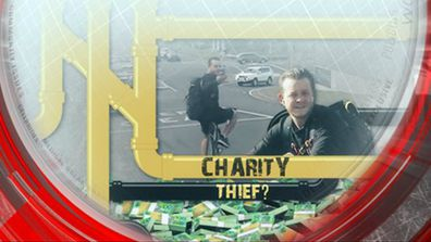 Charity thief?