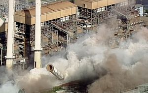 Hazelwood Power Station demolished in explosion