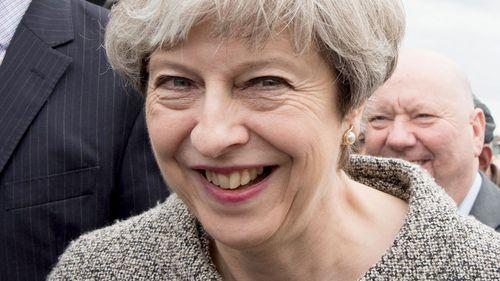 UK Prime Minister Theresa May. (AFP)