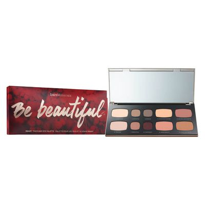 """<a href=""""http://www.sephora.com/be-beautiful-ready-face-eye-palette-P413514"""" target=""""_blank"""">BareMinerals Be Beautiful Ready Face and Eye Palette, $45.</a>"""