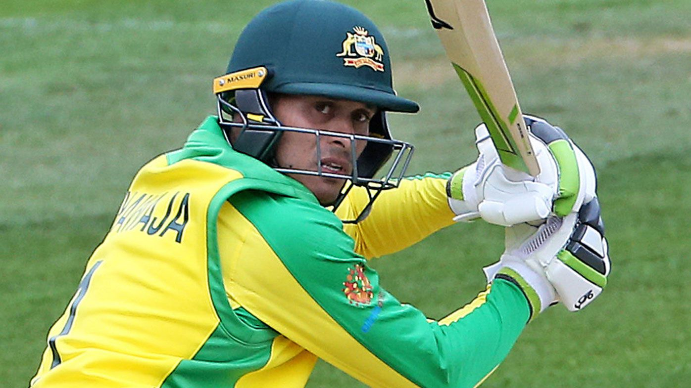 Usman Khawaja shakes off injury and sledge in impressive final World Cup warm-up win