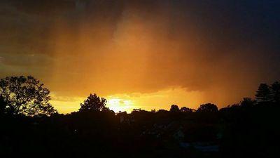 Vasilios Karamitros from Rockdale in Sydney's south captured this sunset.