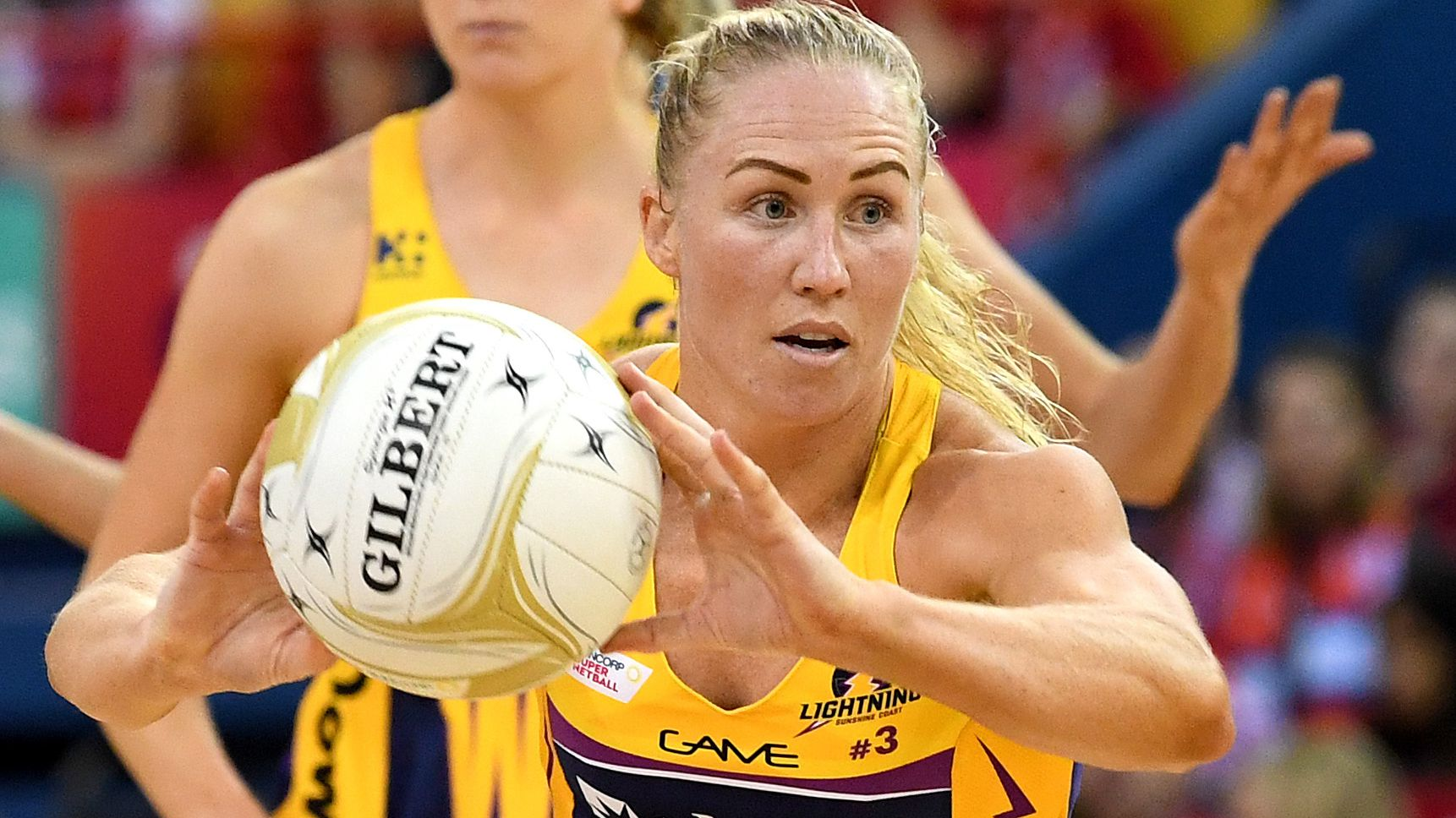 Netball star Laura Langman sticks with Sunshine Coast Lightning
