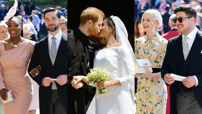 Celebrities at Royal Wedding