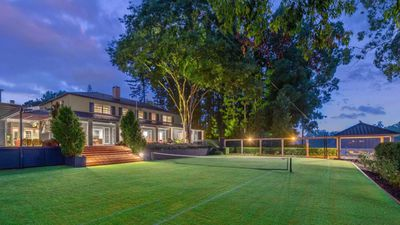 Home court advantage: Aussie houses with their very own tennis courts