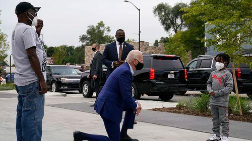 Biden visits Michigan for campaign events