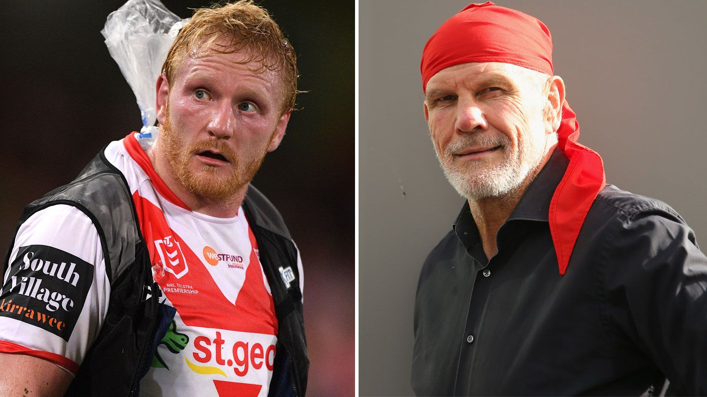 Dragons' James Graham hits back at Peter FitzSimons concussion criticism