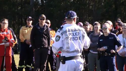 About 100 specialty personnel participated in the search for Quinn Martin today. (9NEWS)