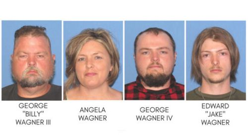Four members of the same family have been charged with the murders of eight people from another family in the Pike County, in Ohio, US.