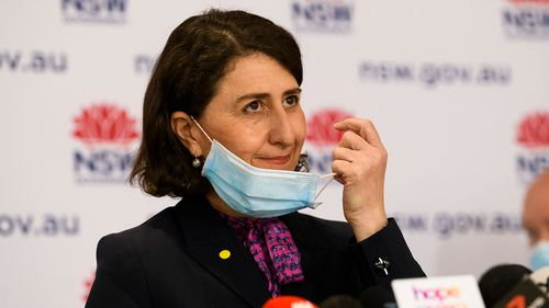 NSW Premier Gladys Berejiklian has touted a record number of vaccines yesterday, even as the state detected a record number of coronavirus cases.