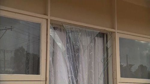 Three armed intruders forced their way into a home in Adelaide's north.