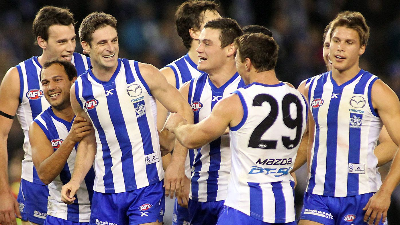 North Melbourne wins tug of war for West Coast Eagles list manager Brady Rawlings
