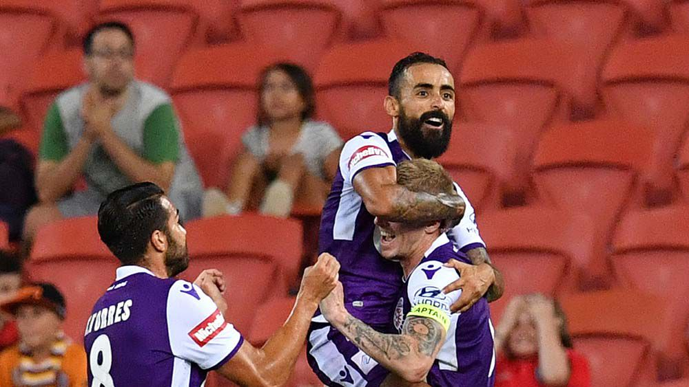 Late Perth goals sink Brisbane in A-League