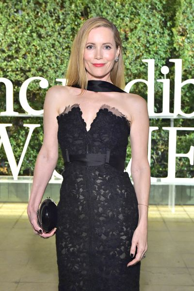 Leslie Mann attends PORTER's Third Annual Incredible Women Gala at The Ebell of Los Angeles on October 9, 2018 in Los Angeles, California