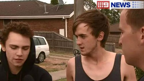 Witnesses speak to 9NEWS about a multiple stabbing in Ballarat. (9NEWS)