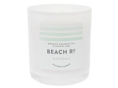 Organic Coconut and Lime Candle — The Block Shop