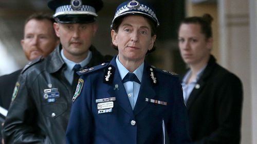 Deputy Commissioner Cath Burn. (AAP)