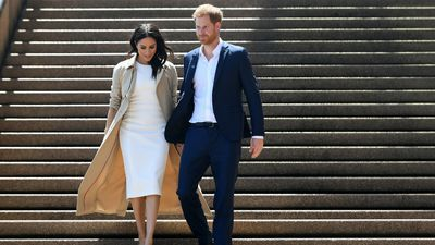 Prince Harry, Meghan Markle at the Sydney Opera House
