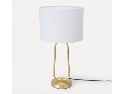 Gold Look Table Lamp — Kmart