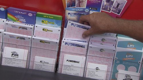 The chances of winning the division one Powerball prize, which includes picking all seven winning numbers and the Powerball, is 134,490,400 to one.