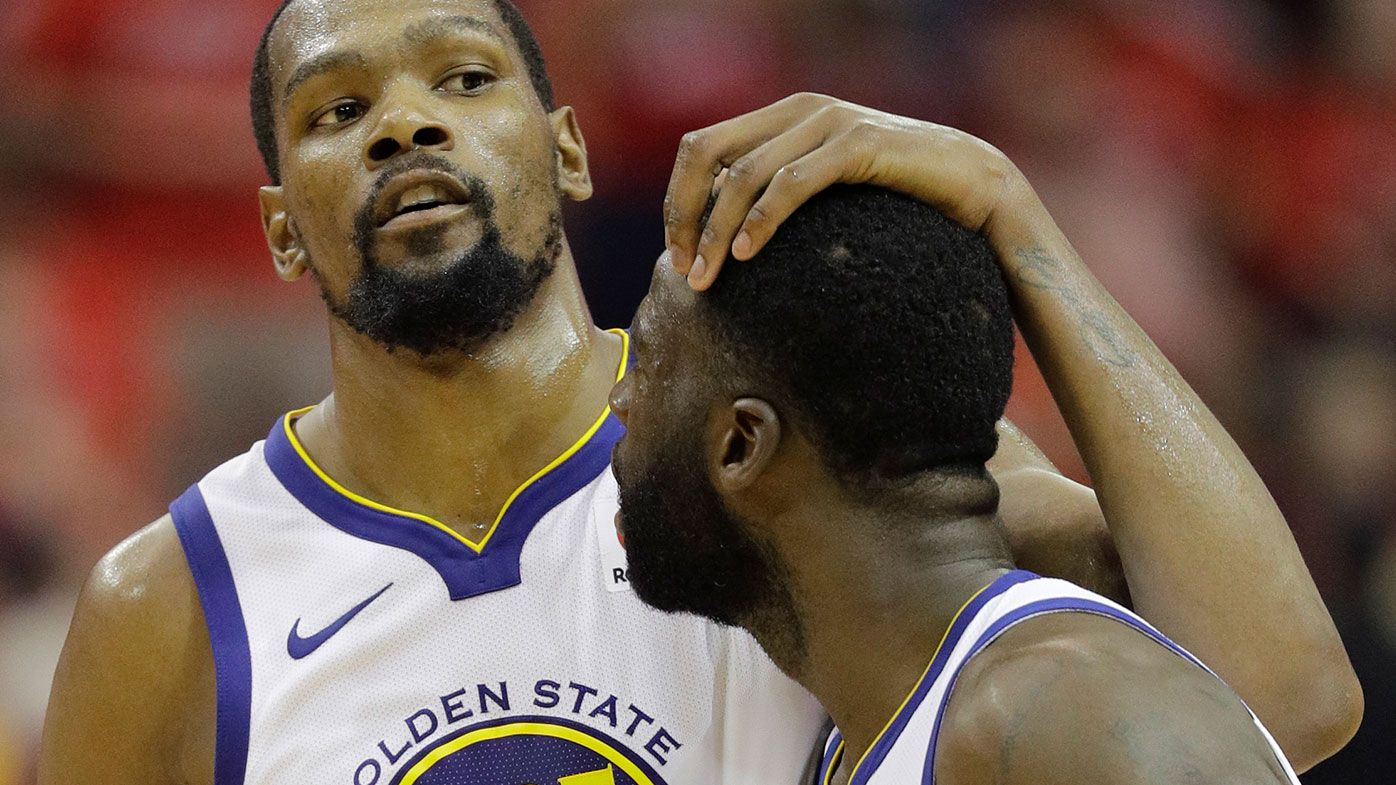 Golden State Warriors use second half surge to smother Houston Rockets and head to NBA Finals