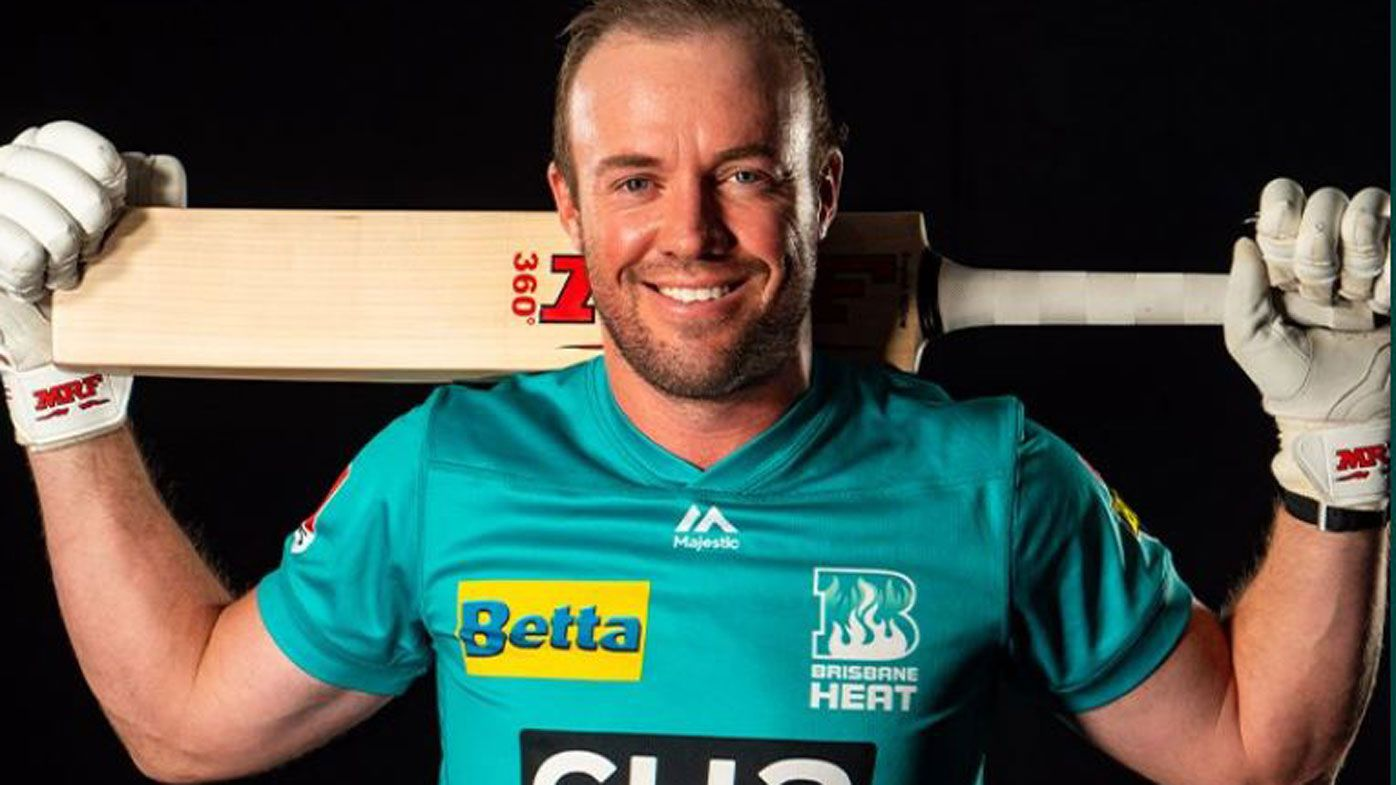 Brisbane Heat snare South African great AB de Villiers for BBL debut