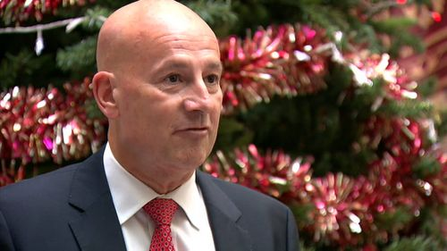 John Robertson has stood down as Opposition Leader. (9NEWS)
